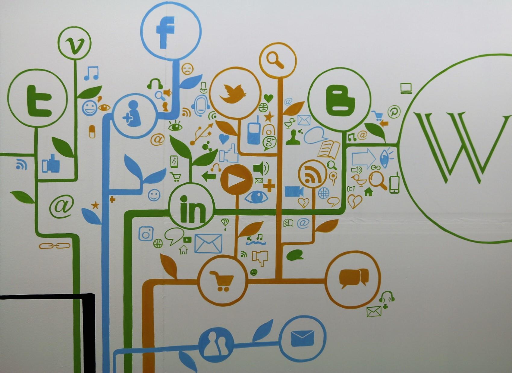 Albero digitale social