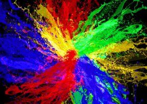 La percezione del colori - Immagine del mouse a colori ...