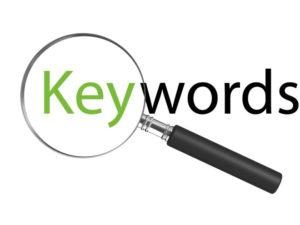 pianificazione parole chiave