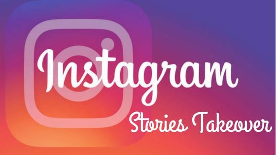Instagram stories Takeover