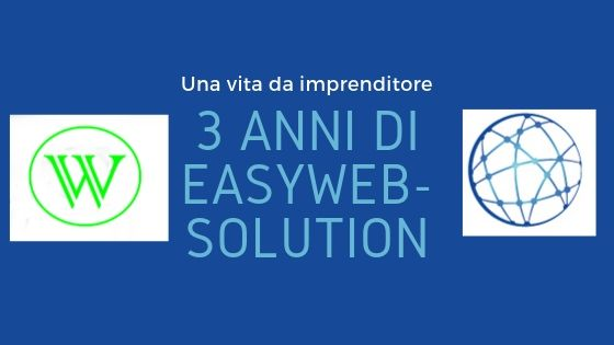3 anni di easyweb-solution