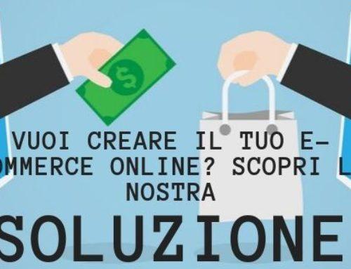 Vuoi creare il tuo e-commerce online? scopri la nostra soluzione con Shopify