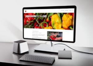 realizzazione sito web peproncino carnia