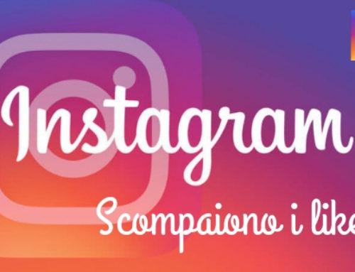 Non sono più visibili i like su Instagram! Cambia la strategia…