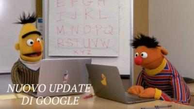 nuovo update di google