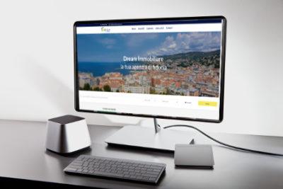 realizzazione sito web dream immobiliare